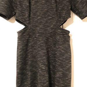 SugarLips gray cutout dress